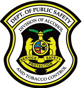 Division of Alcohol and Tobacco Control Shield Logo